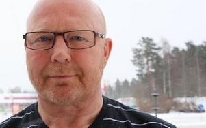Rolf Rickmo, ordförande Dalarnas ishockeyförbund.
