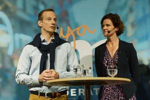 Anders Edholm presenterades under fredagen av Moderaternas partiledare Anna Kinberg Batra som ny moderat partisekreterare under Almedalsveckan.