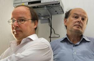 Bötfällda. Jurij Samodurov och Andrej Jerofejev. Foto: Mikhail Metzel/AP/Scanpix
