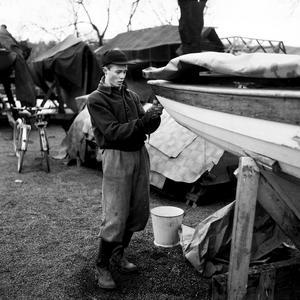 Vilken båt ville man ha 1953? En sån här kanske?