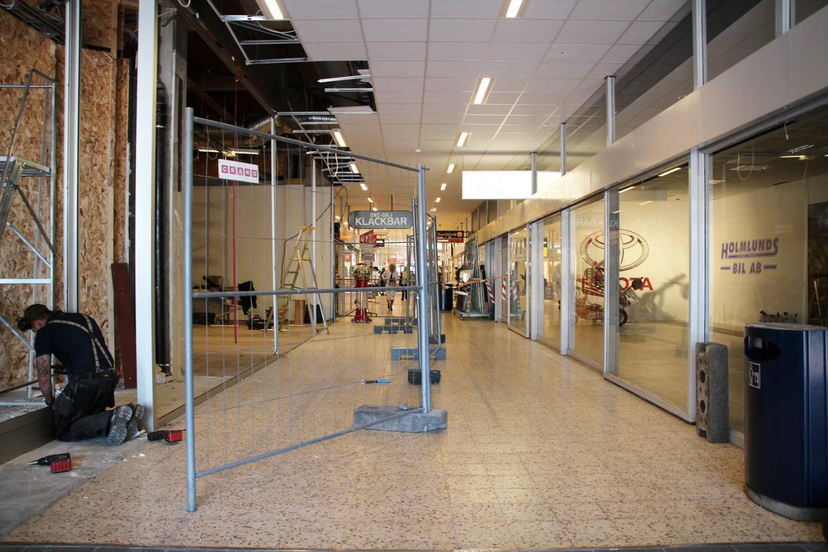 865b5d482f6 Avesta Galleria bygger för nya butiker