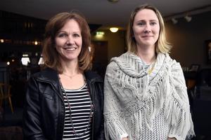 Annelie Qvicker och Frida Torsein ser fram emot kunglig tillökning.