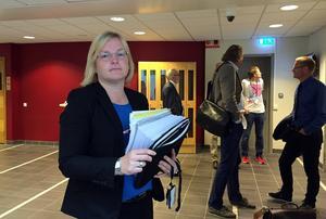 Kammaråklagare Christibna Edlund Nilsson.