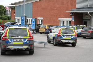 En man greps på Migrationsverket i Gävle.