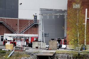 Räddningstjänst från både Hudiksvall och Iggesund fick rycka ut till branden i sodapannan i Iggesund.