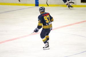 Östervålas Peter Larsson blev isens gigant med sina fem poäng mot SDE HF.