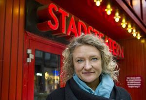 Kulturhuset Stadsteaterns chef Anna Takanen.