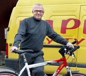 Klarade kvalet. Björn Hagström har nu kört 120 mil, vilket krävdes för att få starta i franska långloppet Randonneur i augusti.