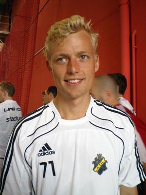 Alftagrabben Claes Englund tar klivet upp från allsvenskan till spel i superligan med AIK.