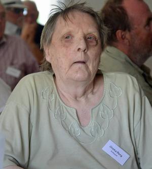 94-åring Greta Berg gick i Holänna skola utanför Ljusdal redan på 1920-talet.