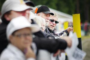 I lördags besökte 3 000 åskådare tävlingarna i Hoting. I går kom något färre.