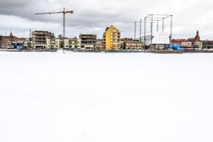 Storsjö strand, onsdagen 15 mars.