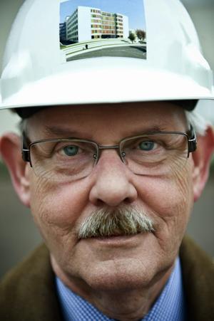 Christer Nyström - födde iden om det nya vårdblocket för 14 år sen.