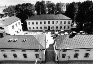 Berggrenska gården i centrala Gävle.