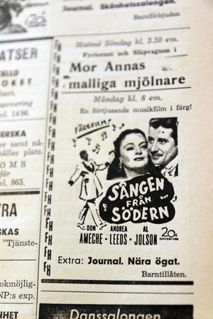 Musiklafilmen i färg var populära.