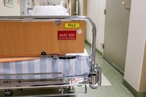 Avdelning 408 har slagits ihop med avdelningen för mag-, tarm- och njursjukdomar.