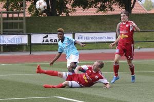 Sandviken vände och vann med 3-2 mot Härnösands FF på Högslättens IP i helgen.