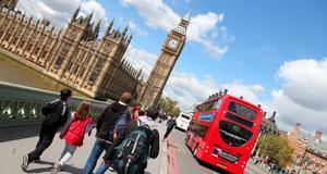 Det är till London vi reser under höstlovet.