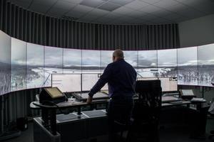 Den 22 december får RTC Sundsvall sin fjärde flygplats till anläggningen. Systemet är redan igång och visar vyn över fjällflygplatsen i skidresorten.