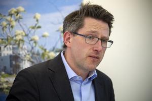 – Det var ett väldigt attraktivt företag för Gävle kommun, säger Lars Wedlin om den hemliga spekulanten.