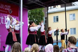 Dansarna i Kurbits Crew kommer från Leksand och Falun.
