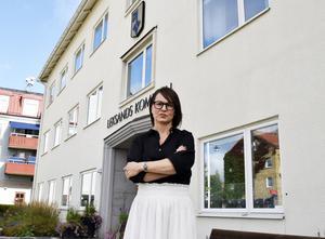I friskolefrågan balanserar Leksands kommunalråd Ulrika Liljeberg (C) skickligt mellan pragmatism och ideologi. Foto: DT