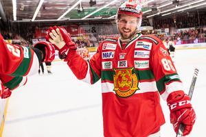 Mathias Bromé slog igenom på allvar i Mora. Bild: Daniel Eriksson/Bildbyrån