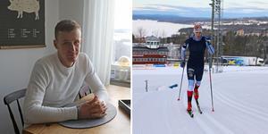 Marcus Ruus är en av åkarna som får chansen att åka på hemmaplan under helgens världscup i Östersund.