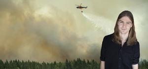 Vattenbombande helikoptrar kan snart komma att ersättas av svenska flygplan.  Foto: Fredrik Sandberg / TT
