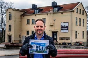 Moderaterna, med Jörgen Berglund i spetsen, vill bygga nya trygghetsboenden. Bland annat på Alnö där gamla Öde skola ligger.