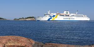 Eckerö-linjen ökade sina passagerarsiffror under både juni och juli.