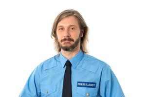 Daniel Wikdahl, presstalesperson polisregion Mitt. Bild: Polisen/Sebastian Lindberg