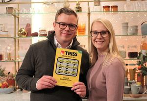 Philip Nord vann 100 000 kronor på Triss. Bild: Svenska spel.