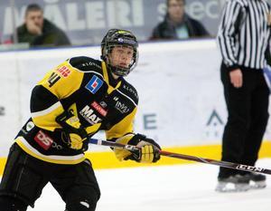 Säsongen 2010/2011 var William Karlsson en stjärna i J20 Superelit. Han fick även känna på spel i VIK:s a-lag.FOTO: Per G Norén/Arkiv
