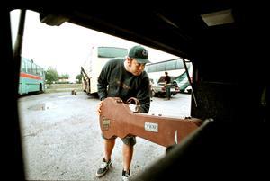 Kimmo på turne anno 2000. Arkivfoto: Per Knutsson /NA