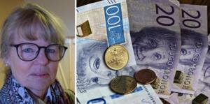 Ulla Olsson, revisionens ordförande, pekar på flera brister.