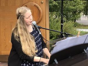 Underbara sångfågeln Lina Sundqvist.