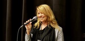 Sångerskan Anneli Kouthoofd.