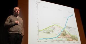 Po Tidholm analyserade bland annat befolkningsutvecklingen i Sverige.