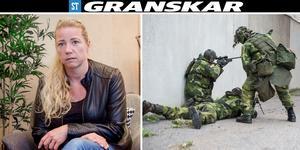 Ulrika Lindvall har blivit kontaktad av okända personer efter att hon öppet berättat om sexuella trakasserier. Personerna till höger i bild har inget samband med artikeln. Foto: Filip Gustafsson Högman/Josefine Karlsson.