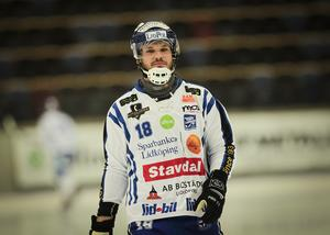 Joakim Andersson bjöd på dagens konstmål.