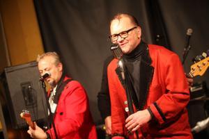 Bosse Arnström är sångare i bandet och uppskattar känslan som finns i 50-tals musiken.