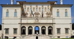 Galleria Borghese - ett av de museer där man kan beskåda Caravaggio.