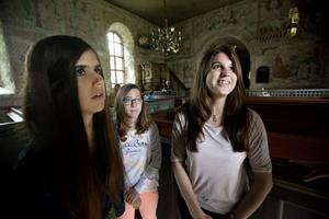 Publiken strömmade till under 2013. Här är det utländska elever som tittar in i Murbergets kyrka i maj.