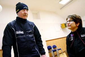 Arne Bångåsen och Ingela Nord är två av eldsjälarna bakom Byakampen som arrangeras av Offerdals skidklubb.