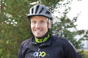 Jonas Sölveskog var en av arrangörerna för årets Helsingecup i mountainbike.