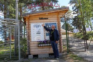 Anders Eriksson ser fram emot fredagskvällens evenemang på Tallbacken i Ånge.
