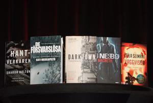 De nominerade till titeln Årets bästa till svenska översatta deckare.