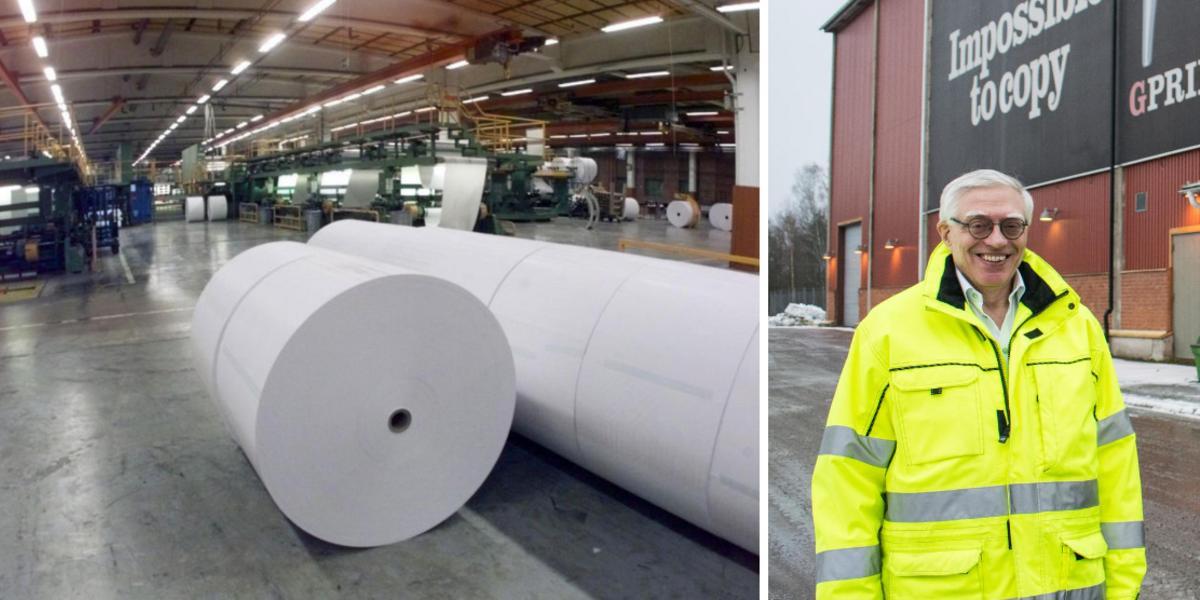 """Arctic Paper fortsätter gå bra – klart med ny produkt i Grycksbo: """"Står starka"""""""
