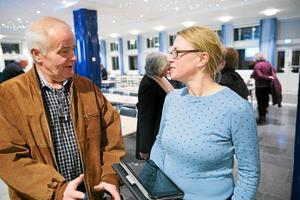 Jan Karlsson och Åsa Wikberg har haft sina strider under mandatperioden. Nu har de skilda uppfattningar om nödvändigheten av att snabbt ta beslut om att bygga ett parkeringshus.